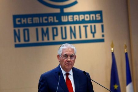 Tillerson Blames Russia For Alleged Syria Chemical Attack After Admitting He Doesn't Actually Know Who Did It