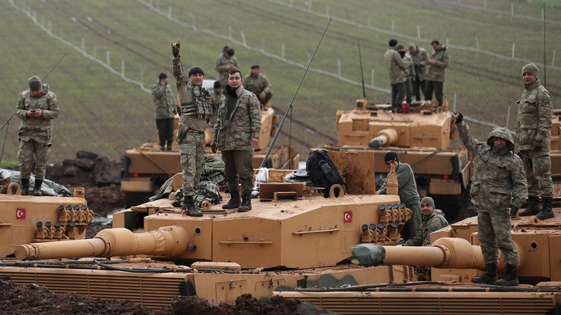 Turkish Military Column Enters Western Aleppo In Preparation To Open New Front Against YPG In Afrin - Reports