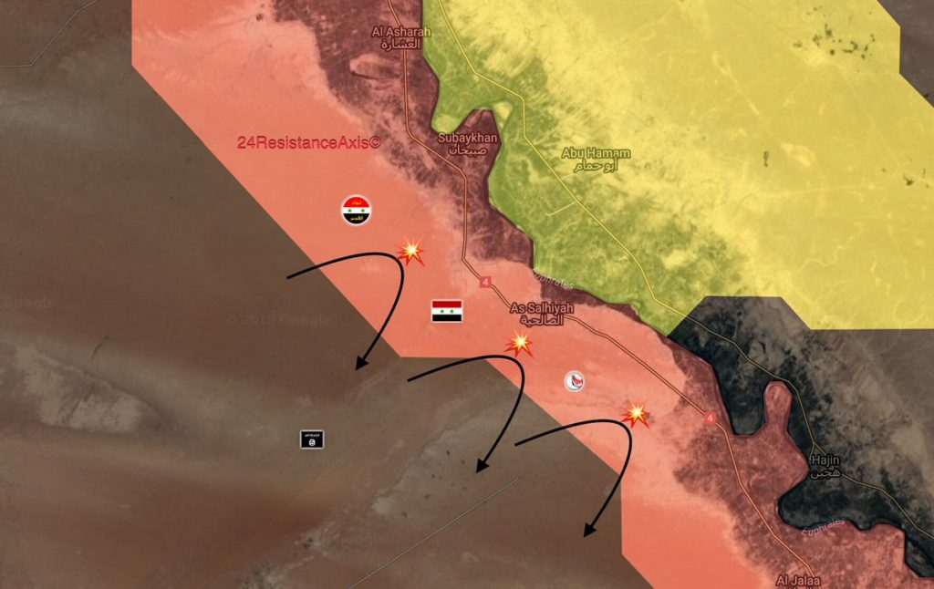 Army Troops Repel Large ISIS Attack In Southeastern Deir Ezzor