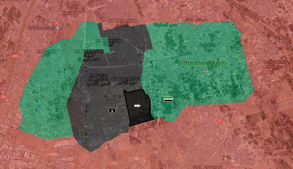 ISIS Captures Zain District From Jaish al-Islam In Southern Damascus - Reports