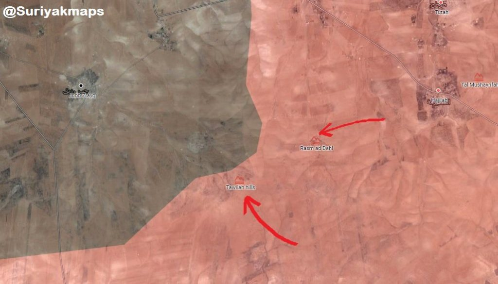 Syrian Army Advances On ISIS Positions In Northeastern Hama, Captures Important Hills