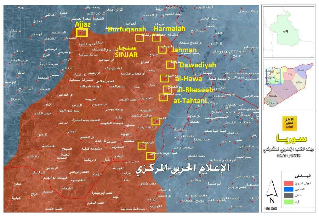 Government Forces Liberated 11 More Villages From Militants In Southern Idlib (Map)
