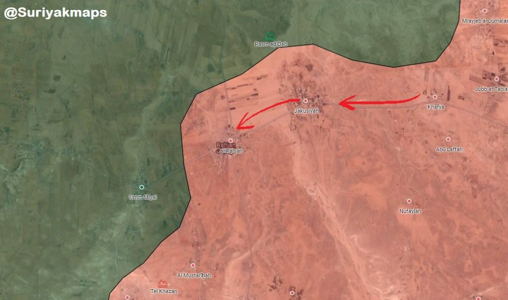 Government Forces Reopen Front Against Militants In Northeastern Hama (Map)