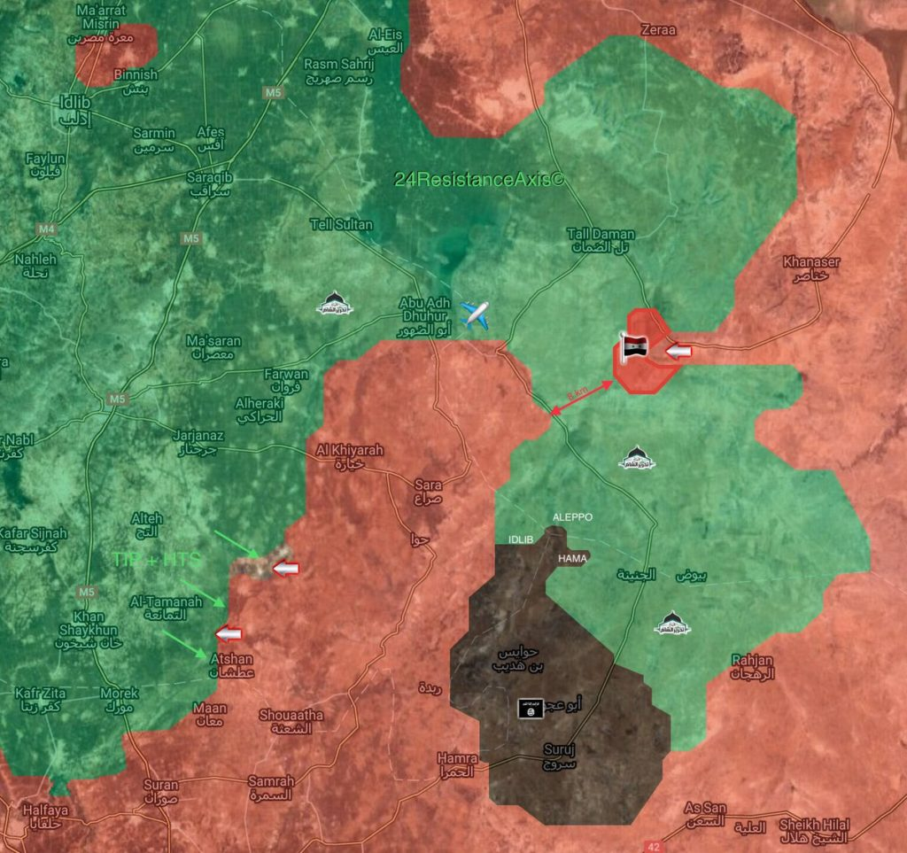 Pro-Governemnt Forces Liberate 9 Villages From Militants West Of Khansir (Map)