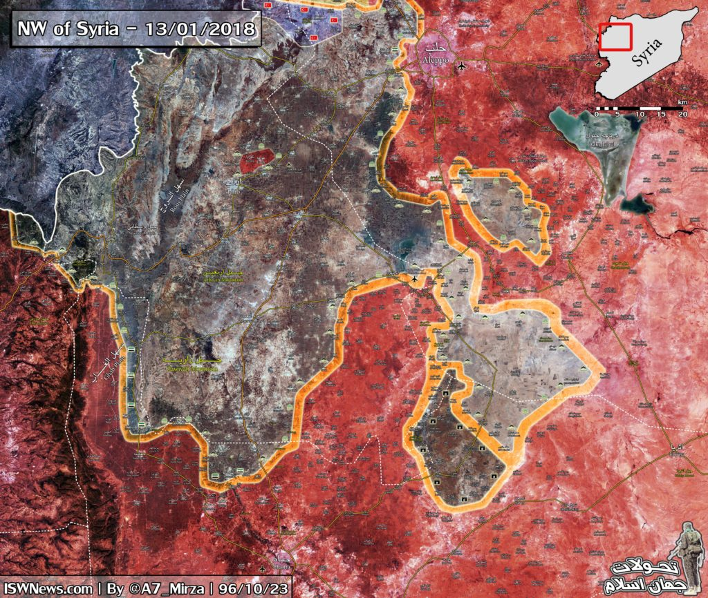 Map Update: Current Results Of Syrian Army's Advance In Eastern Idlib, Northern Hama And Southern Aleppo