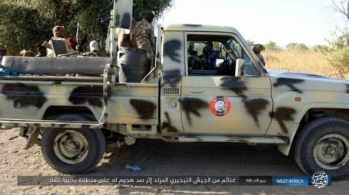 Photos: Boko Haram Captures Large Number Of Weapons, Munition And Vehicles From Nigerian Army