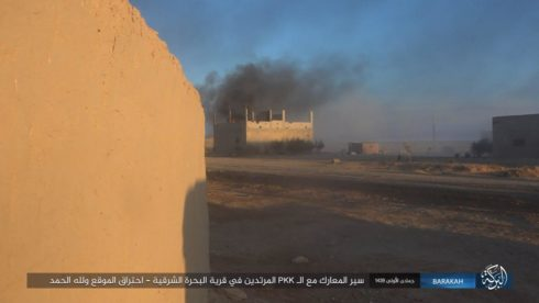 US-backed Forces Capture 50% Of Gharanij Town, Kill Dozens Of ISIS Fighters