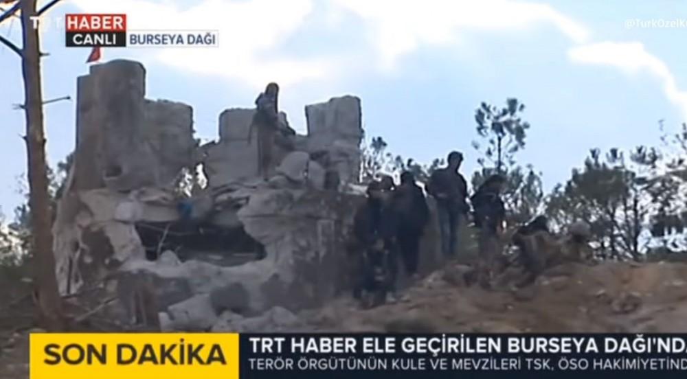 Permanent Defenses Of Kurdish Forces Captured By Turkish Army On Bursaya Mount (Videos, Photos)