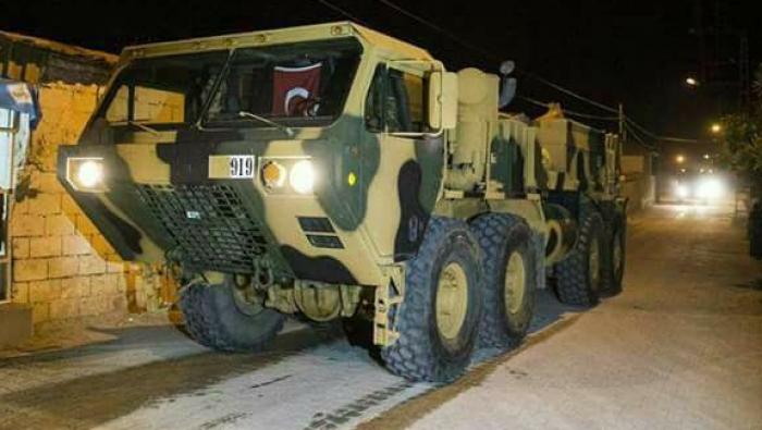 Turkish Military Column Enters Eastern Idlib Countryside