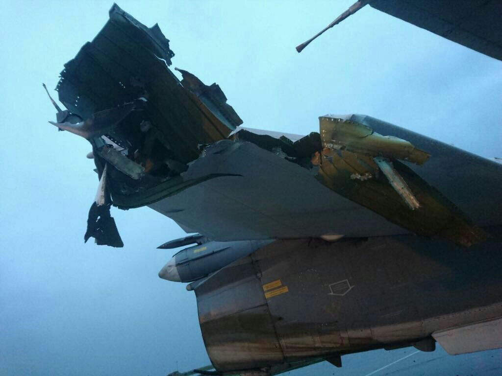 Photos Allegedly Show Damage Caused To Russian Aircraft At Khmeimim Air Base From Militant Shelling