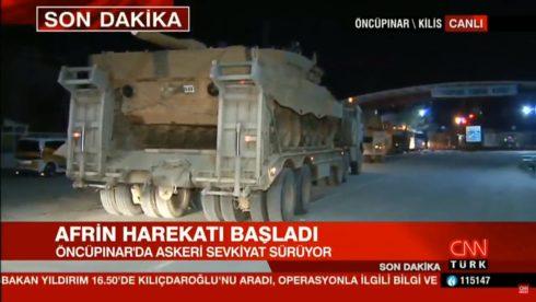 Turkish Leopard 2A4 Battle Tanks Enter Syria In Azaz Area (Photos)