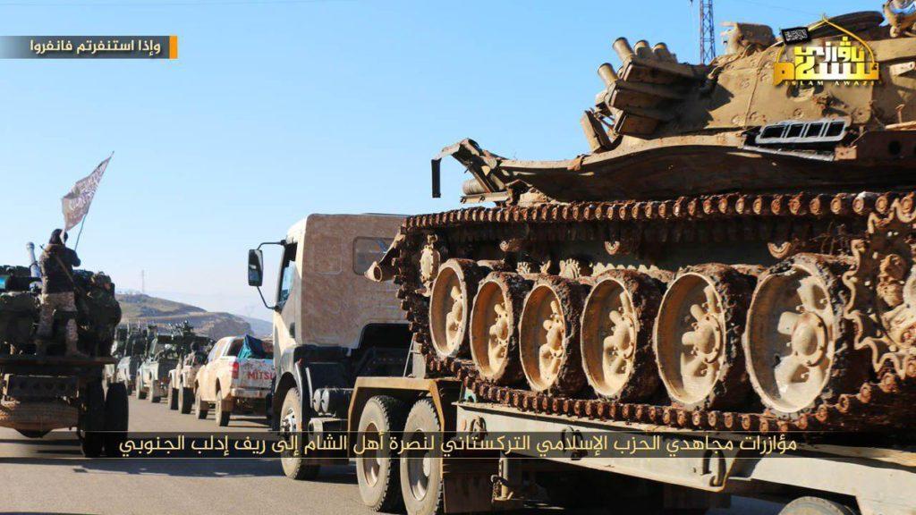 Turkistan Islamic Party Sends Reinforcements To Assist Hayat Tahrir al-Sham Against Syrian Army In Southern Idlib (Photos)