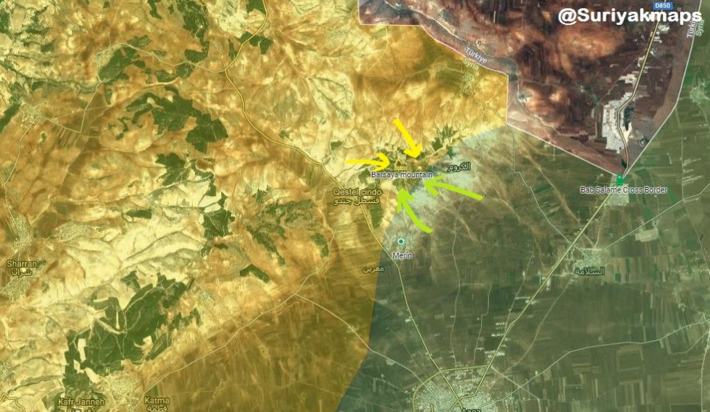 YPG Recaptures Birsaya Mount East Of Afrin From Turkish Forces - Reports