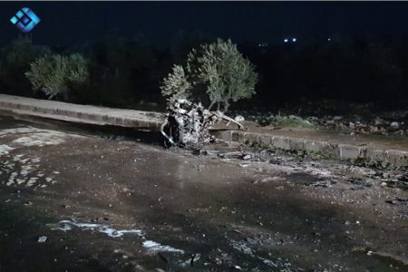 Turkish Vehicle Destroyed, Few Damaged In Car Bomb Explosion In Southwestern Aleppo (Photos)