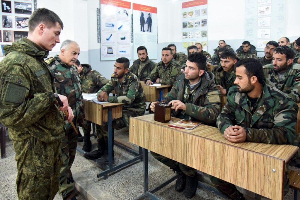 Russian Military Trained Almost 900 Combat Engineers For Syrian Army