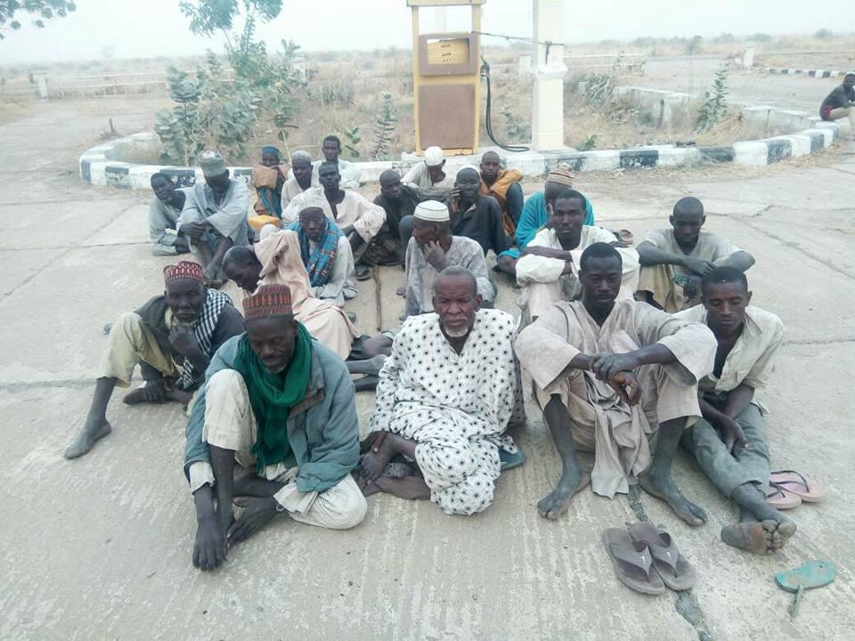 Hundreds Of Civilians Escape From Boko Haram In Nigeria (Photos)