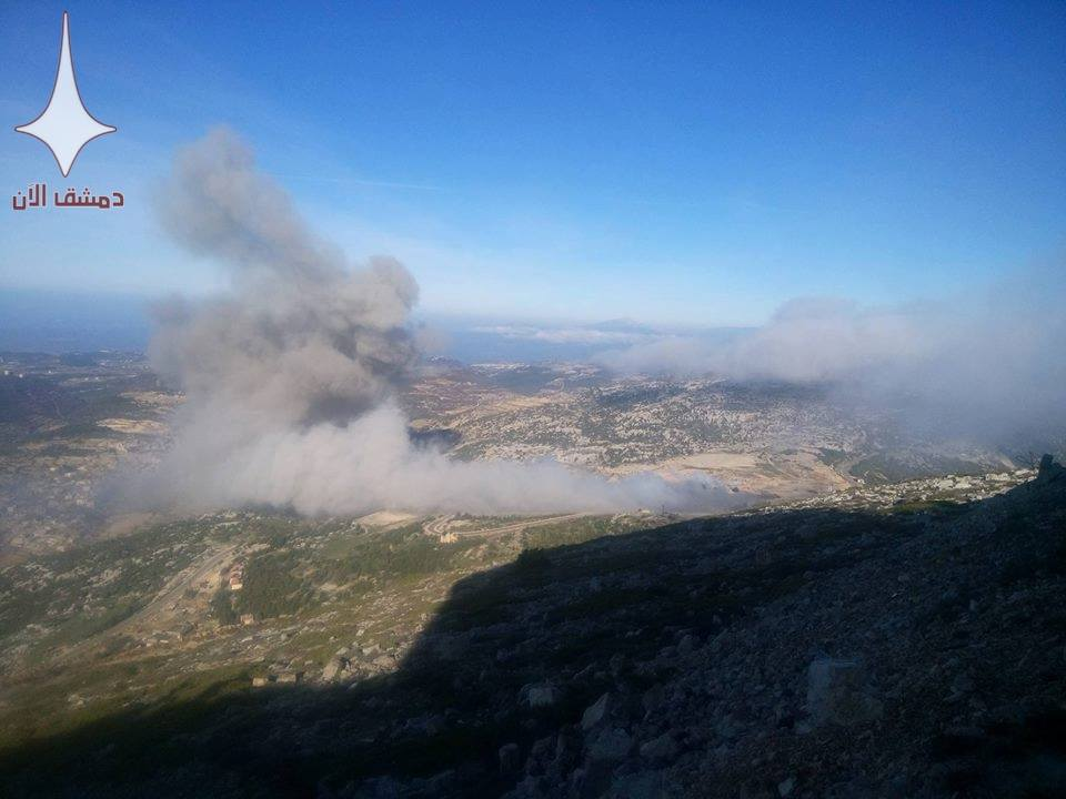 Syrian Military's Ammo Depots Exploded In Northern Lattakia. Casualties Reported