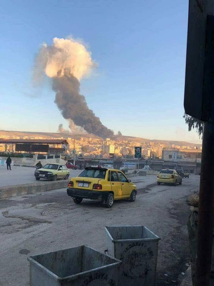 Turkish Warplanes Conduct Airstrikes On YPG/YPJ In Syria's Afrin (Videos, Photos)
