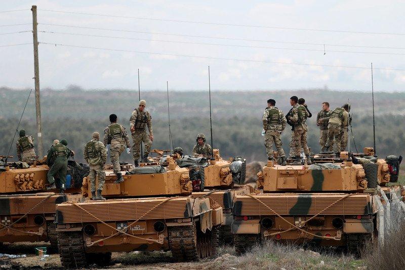 Turkey's Operation Olive Branch - January 22, 2018 (Videos, Photos)