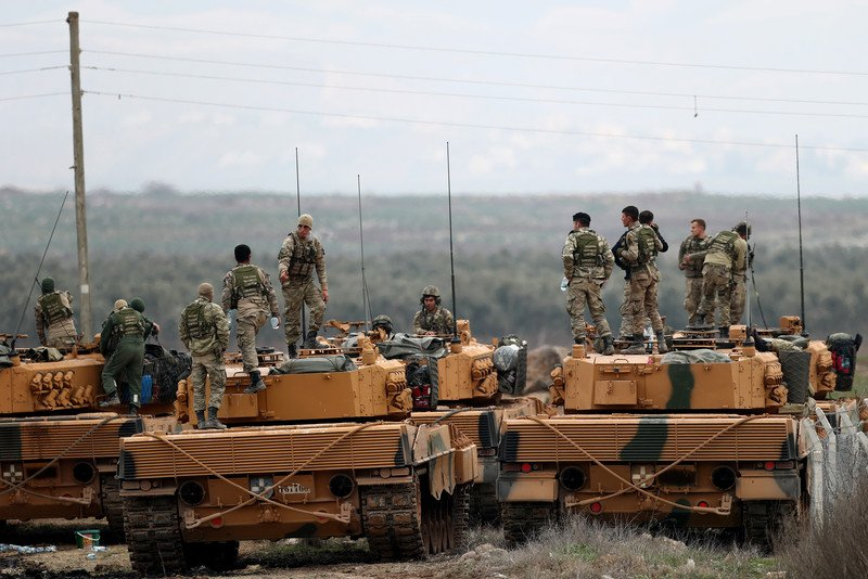 Turkey's Operation Olive Branch - January 22, 2018 (Videos, Photos)