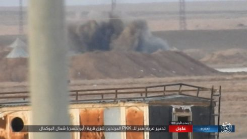 ISIS Launches Another Attack On US-backed Forces In Gharanij (Photos)