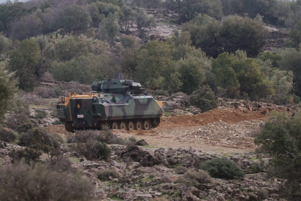 Turkishs Airstrikes Destroy YPG Weapons Depot, Battle Tanks Support FSA Attack On Afrin (Photos, Videos)