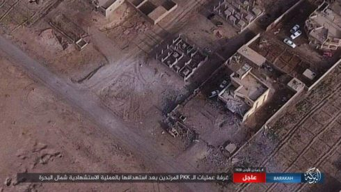 ISIS VBIED Destroyed HQ Of US-backed Forces In Southeastern Deir Ezzor (Photos)