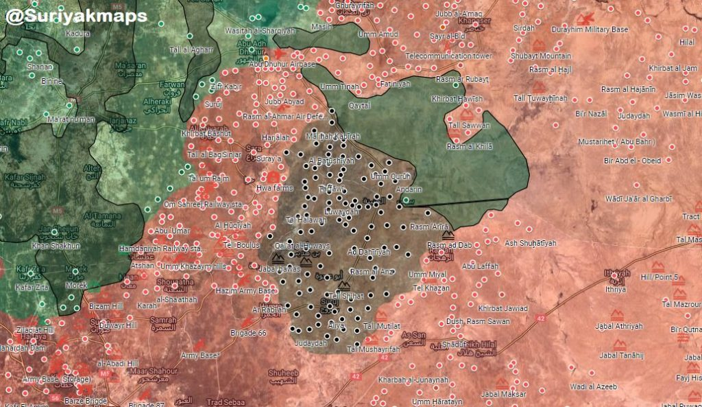 Syrian Army Liberates Abu Duhur Airbase, Capture Several Positions Around It (Videos, Maps)