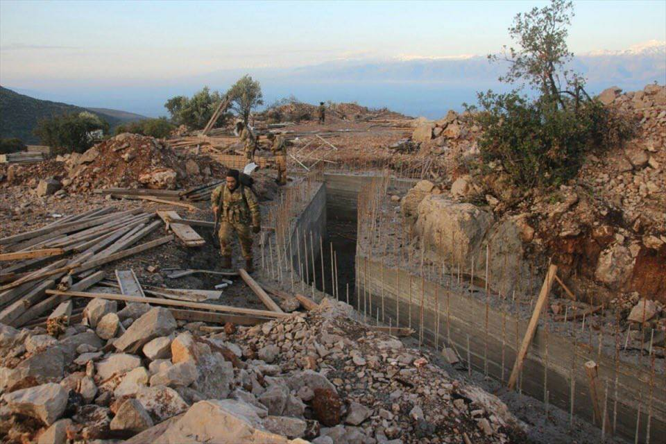 Permanent Defenses Of Kurdish Forces Captured By Turkish Army On Bursaya Mount (Videos, Photos)
