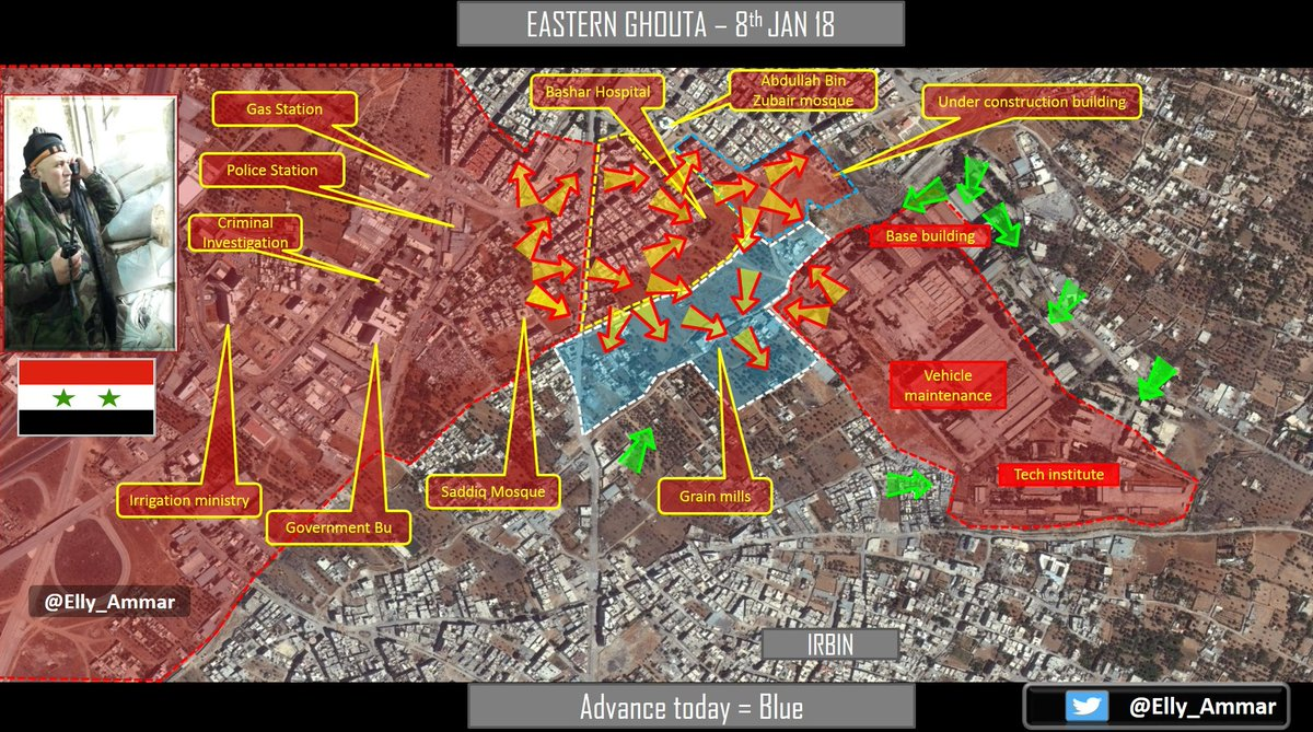 Syrian Army Breaks Ahrar al-Sham's Siege On Armored Vehicles Base (Map)