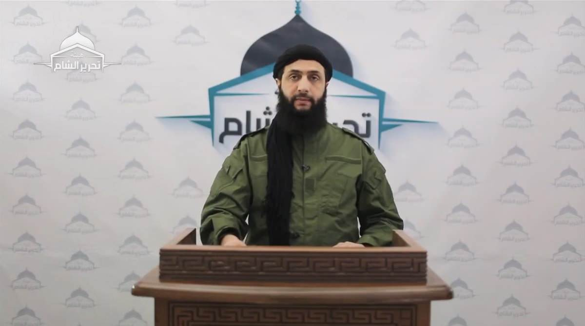 Al-Julani Says HTS Will Not Withdraw From Idlib Demilitarized Zone, Vows To Recapture Lost Territory