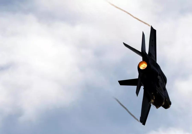 Israeli Strikes Hit Key Air Base In Central Syria
