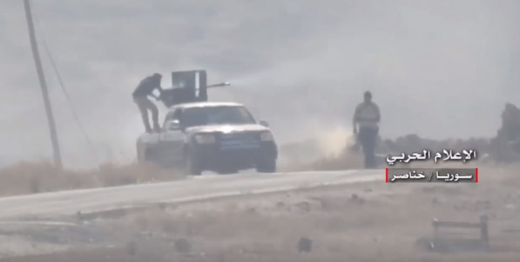Video: Government Forces Turn Militants Back In Southern Aleppo