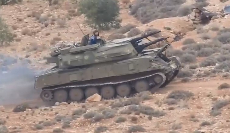 Video: Government Troops Deploy North Of Beit Jinn In Southern Syria