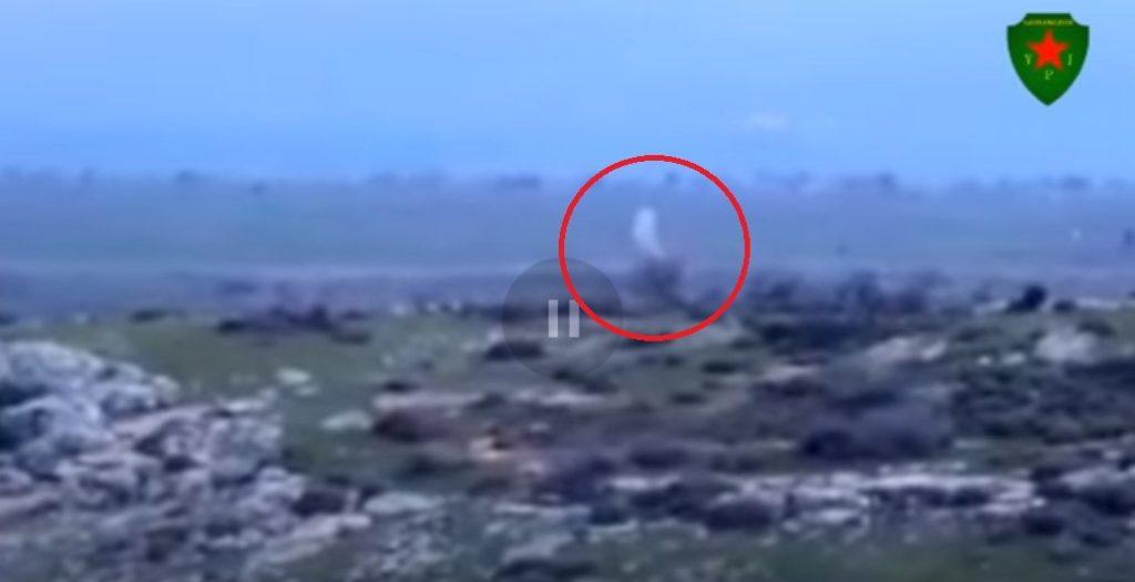 Video: YPJ Targets Turkish Battle Tank With ATGM