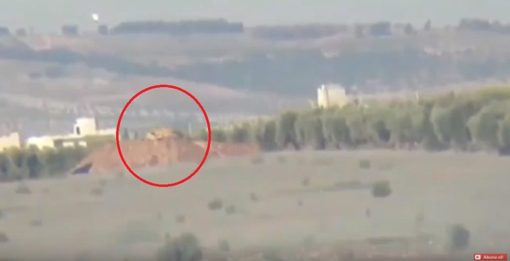 Video: Kurdish Launch Anti-Tank Guided Missile At Inflatable Mock-Op Of Turkish Battle Tank