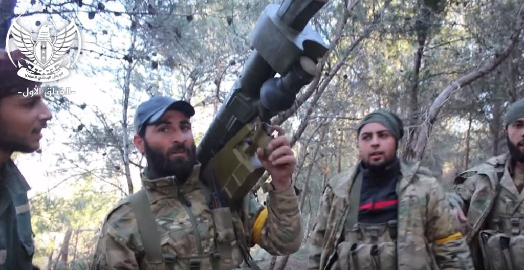 Turkish-backed Militants Claim They Captured MANPAD From YPG In Afrin (Video)