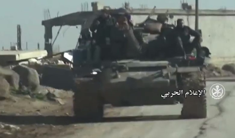 In Video: Syrian Troops Advance On Militants' Positions In Southern idlib