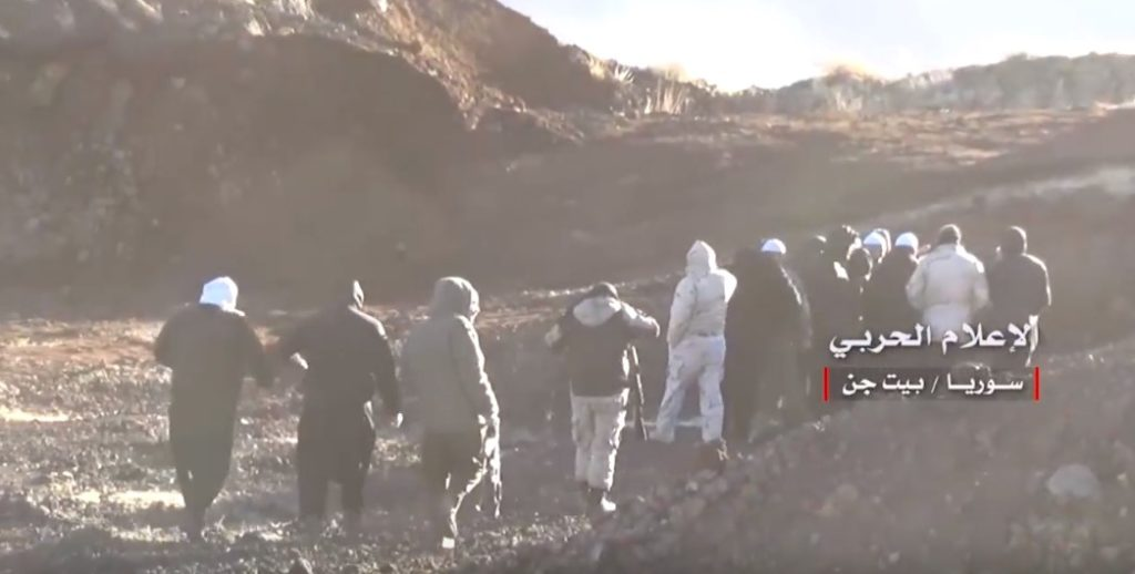 Video: Government Forces Deploy South Of Beit Jinn In Western Ghouta