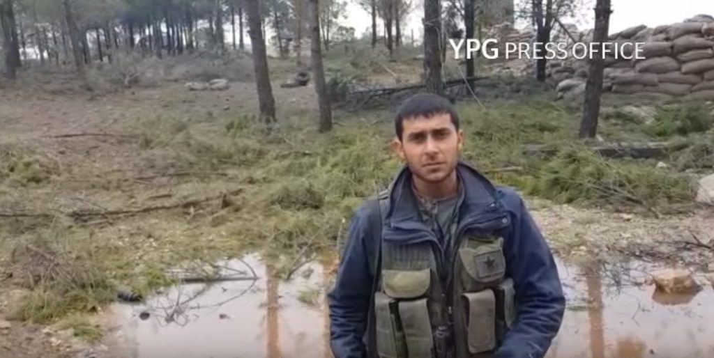 Video Confirmation: YPG Forces Control Birsaya Mount East Of Afrin
