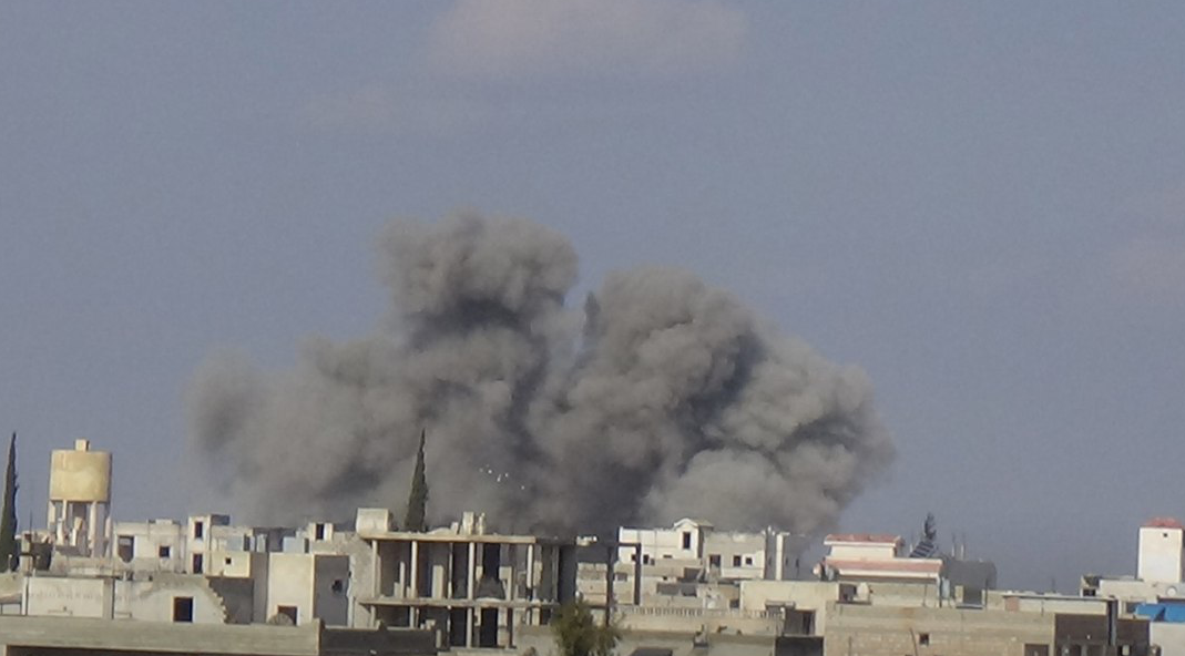 Syrian And Russian Warplanes Carried Out Over 75 Airstrikes Against Militants In Idlib Province
