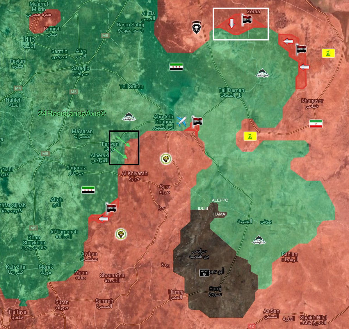 Hay'at Tahrir al-Sham Launches Fierce Attack Against Syrian Army Southwest Of Abu Duhur (Photos, Map)