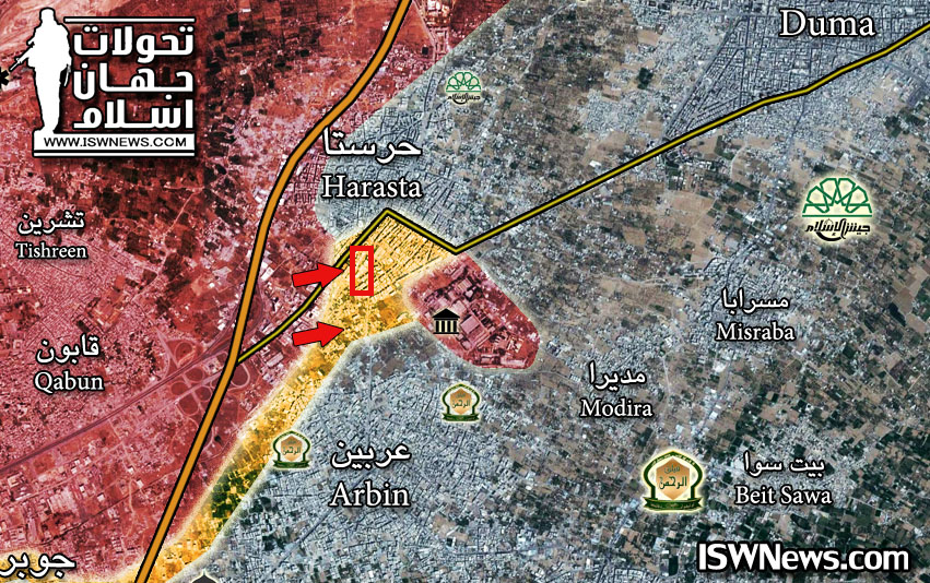 Syrian Army Makes Another Step To Lift Ahrar Al-Sham Siege From Armored Vehicles Base (Videos, Photos, Map)