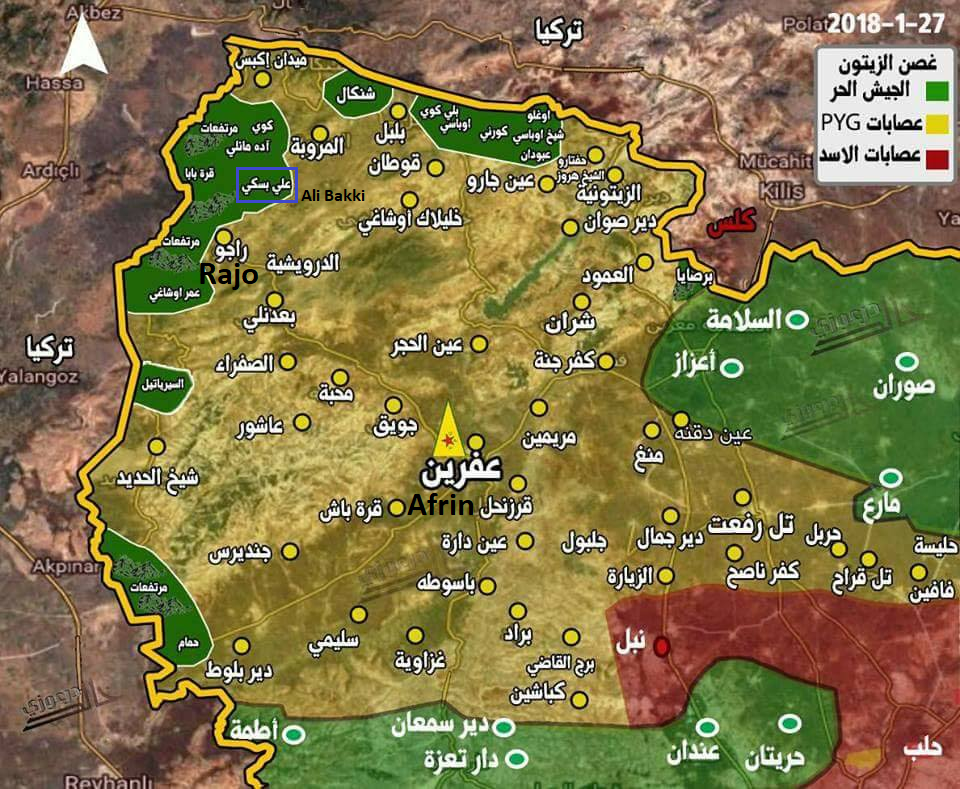 Turkish Army Makes New Gains North Of Afrin City (Map, Photos)