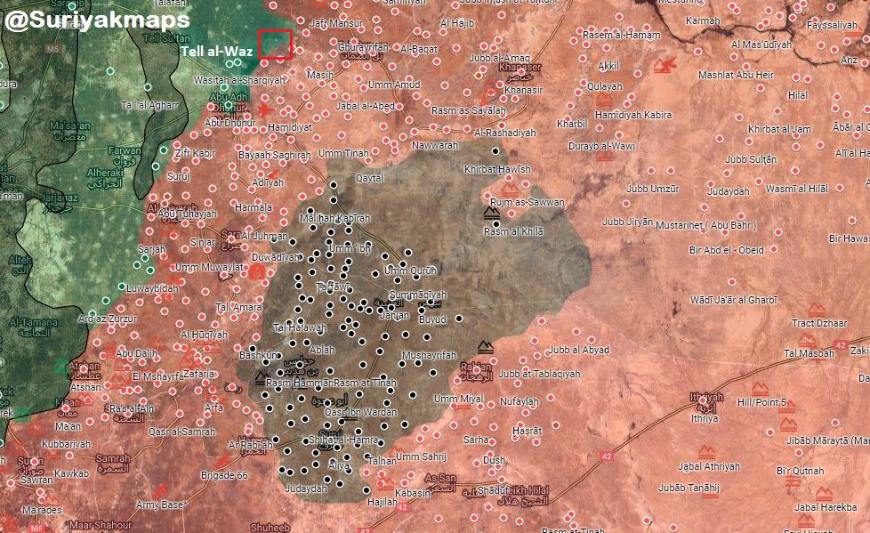 Video: Syrian Army Pressures ISIS Militants In Northeastern Hama Pocket