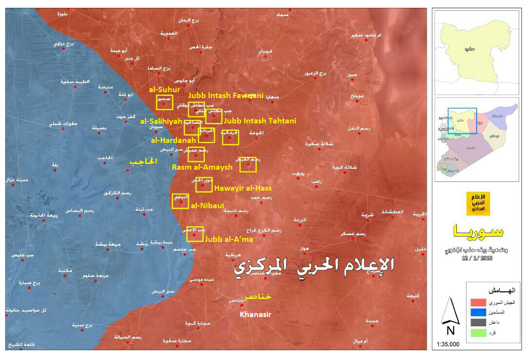 Government Forces Repelled Hayat Tahrir al-Sham Counter-Attack, Liberated 19 Villages (Maps)