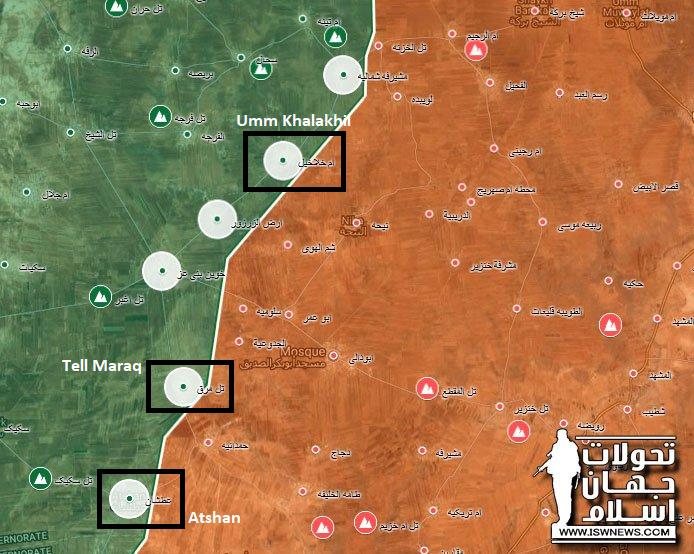 Hay'at Tahrir al-Sham Develops Counter-Attack Against Syrian Army In Southern Idlib (Map, Videos)