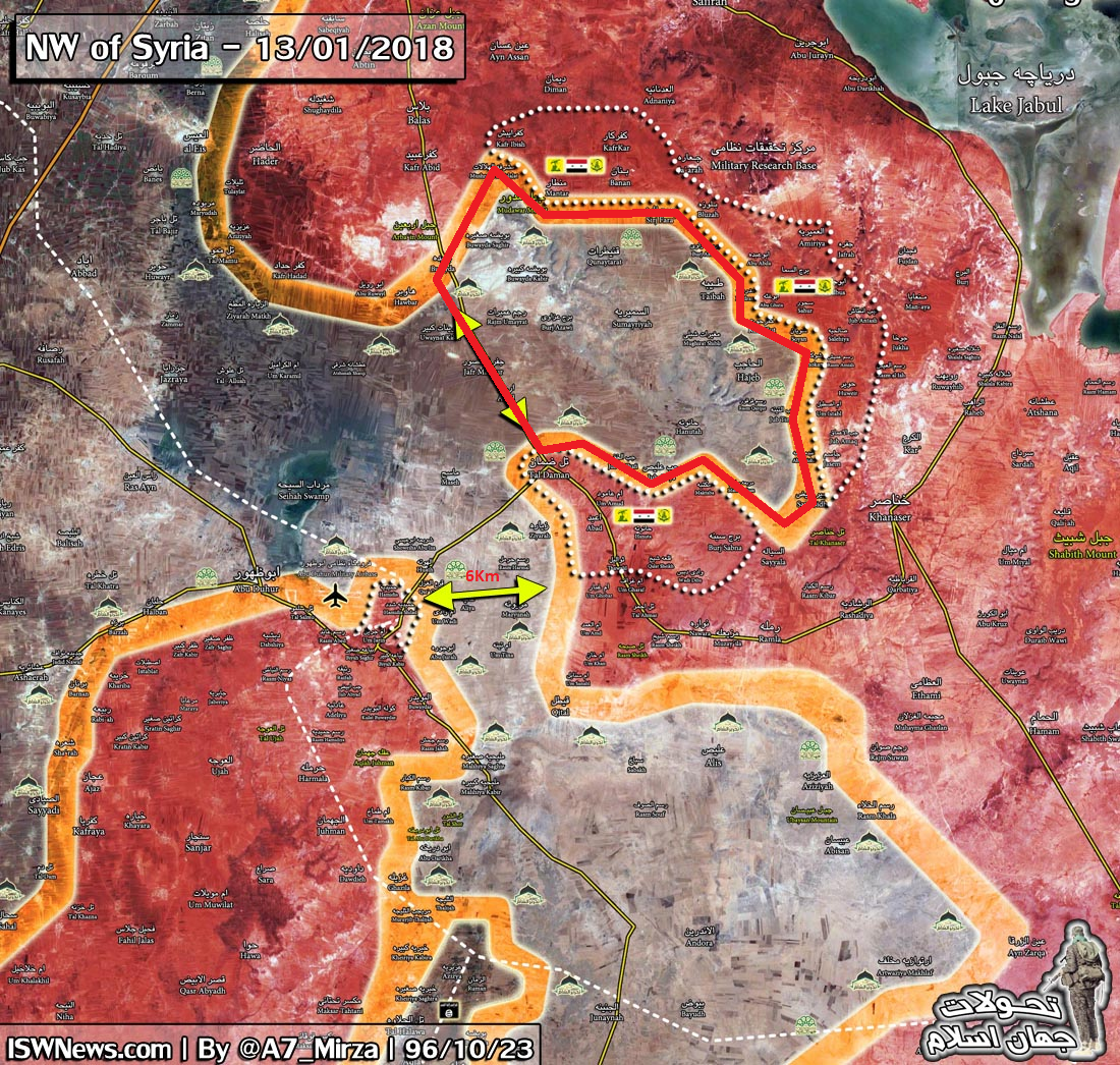 Syrian Army Captures Entire Area Of Mount Hass In Southern Aleppo (Photos, Map)