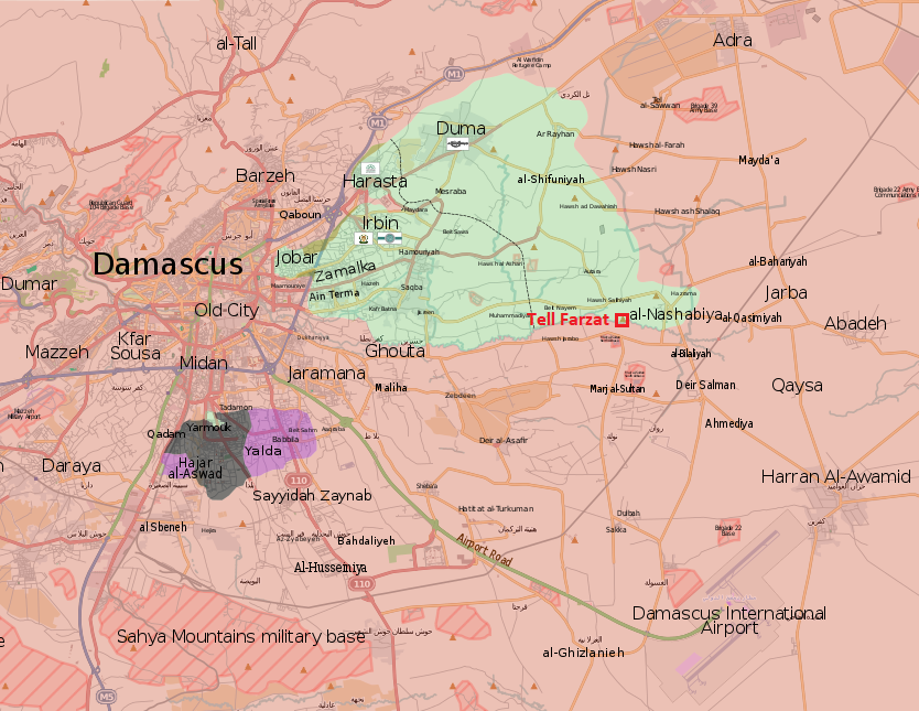 Syrian Army Launches New Operation Against Jaysh al-Islam In Eastern Ghouta (Map)