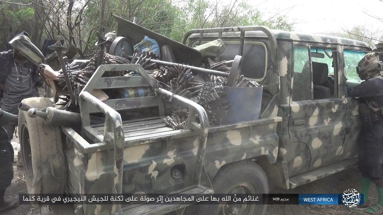 Boko Haram Attacks Nigerian Army In Country's Northeast (Photos)